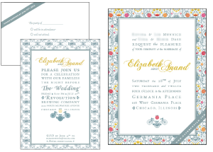 Invite, 3 pieces