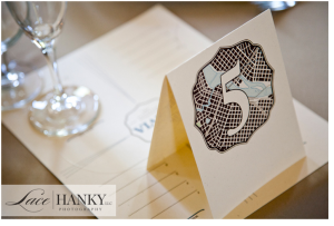 Ss lacehanky table number