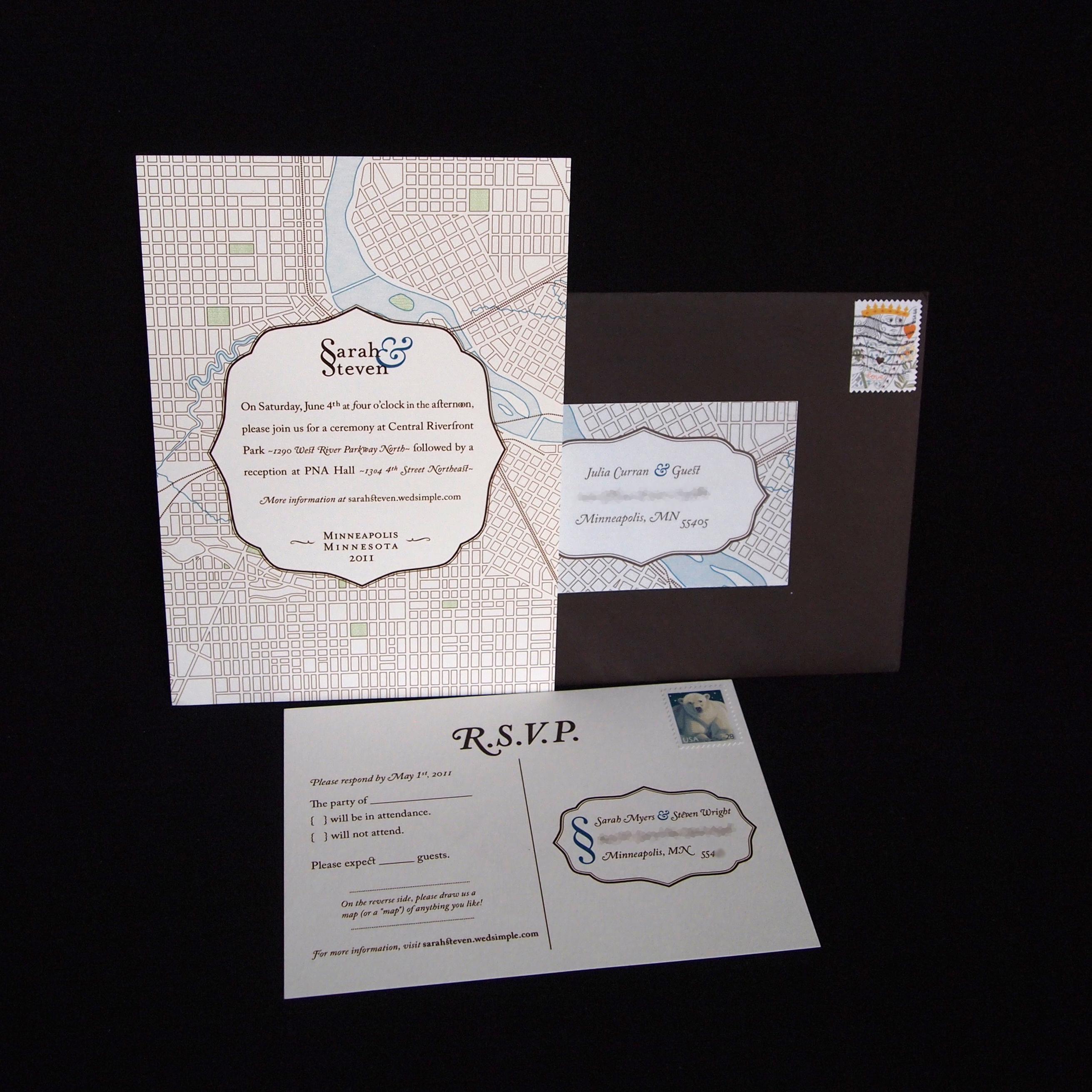 Designed: wedding invite | happify
