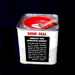 Shur-Seal tin